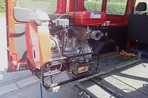 Město obdrželo dotaci na pořízení motorové stříkačky pro JSDH Rychlov.