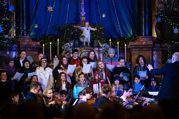 Vánoční koncert. Ilustrační foto.