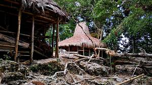 Ostrov Sumba v Indonésii