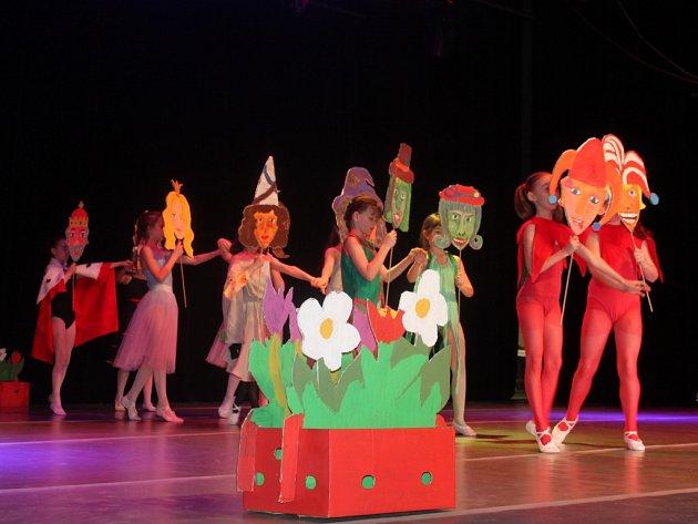 Na Domě kultury se konalo okresní kolo tanečních oborů žáků ze základních uměleckých škol.