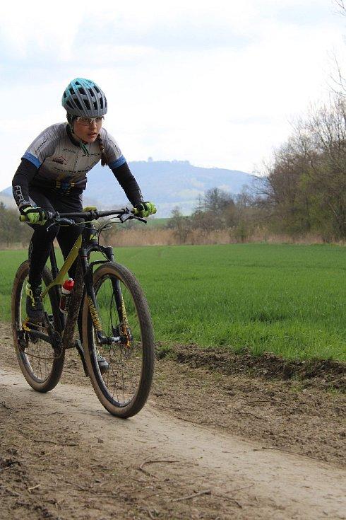 bikerka Julie Malošíková, virtuální Rohálovská padesátka 2021