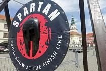Příprava na víkendový extrémní závod Spartan Race 2020 v Kromeříži