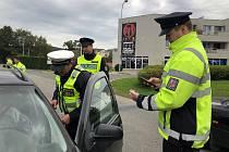 Policisté v Kroměříži a Cetechovicích uspořádali dopravně-bezpečnostní akci zaměřenou na řidiče aut s názvem Uzávěra komunikace - filtr.