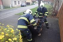 Za požárem v rodinném domě v Zástřizlech stála vadná elektroinstace