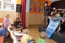 Holešovské Středisko volného času TYMY nabídlo v neděli 29.února divadelní představení Námořnická pohádka.