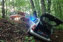Dopravní nehoda u Kostelan na Kroměřížsku.