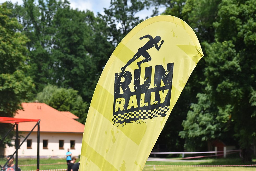 Run Rally 2021 v Holešově, červen 2021.