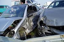 Dne 6.11.2008 v 08:53 hod. byli hasiči požádáni o pomoc po dopravní nehodě u Bezměrova