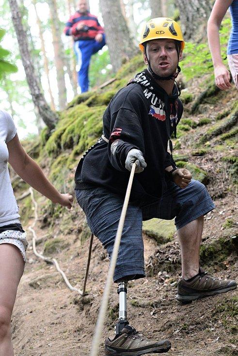 Jiří Fojtík z Rajnochovic žije i po těžkém úrazu z roku 2016 plnohodnotný život. Stále se věnuje také sportu.