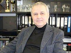 Petr Hajný, ředitel Střední školy hotelové a služeb v Kroměříži.