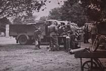 Hulín v období druhé světové války.