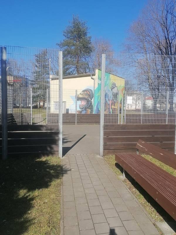 Dětská hřiště v Kroměříži v době lockdownu