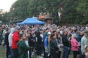 V areálu na Kamínkách nedaleko Roštína se druhý srpnový víkend už po dvaadvacáté konaly Slavnosti piva
