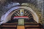 Místo narození Jana Sarkandra přeměněné na kapli. Skočov (Polsko)