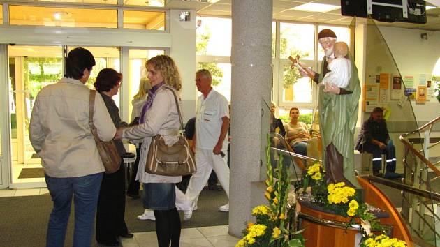 Kroměřížská Nemocnice Milosrdných sester svatého Vincence de Paul pořádala Den otevřených dveří.