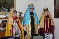 Oblastní charita Kroměříž pořádala tradiční Tříkrálovou sbírku. Navštívili i kroměřížskou radnici.