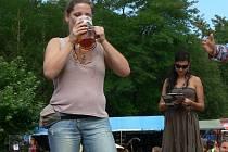 Slavnosti piva v rekreačním areálu Kamínka u Roštína. Ilustrační foto.