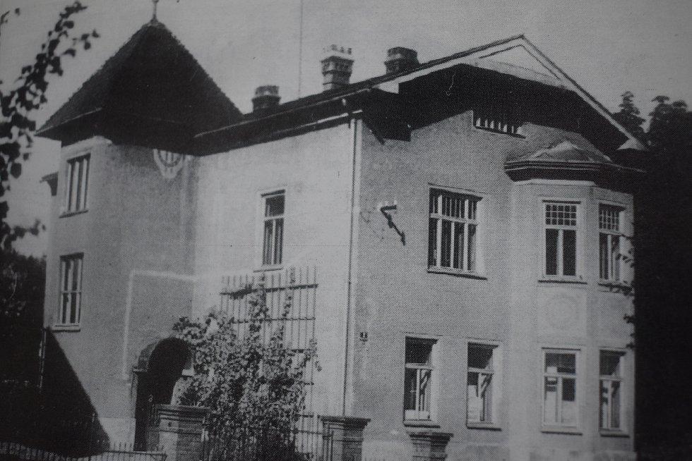 Dům, ve kterém přebýval Masaryk při předválečných cestách do volebního obvodu.