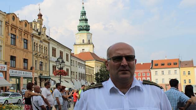 Mezinárodní festival vojenských hudeb v Kroměříži, podplukovník Kamil Mezihorák.