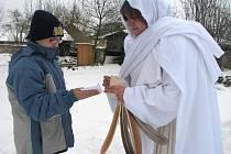 Netradiční Mikulášská akce na tvrzi v Kurovicích