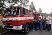 Den Integrovaného záchranného systému se uplynulý pátek konal na stanici profesionálních hasičů v Bystřici pod Hostýnem.