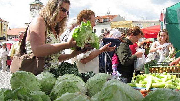 Farmářské trhy v Kroměříži