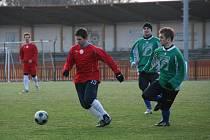 První tři jarní zápasy odehraje Spartak na svém hřišti.