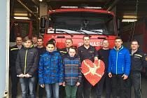 Žáci Církevní základní školy v Kroměříži se také letos zapojili do 4. ročníku celostátní soutěže Srdce s láskou darované