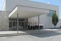 Slavnostní otevření kulturního domu ve Zdounkách, kterého se zúčastnili také starostové okolních obcí a hejtman zlínského kraje Stanislav Mišák. Otevření se konalo 23. srpna 2012.