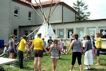 Tři příměstké tábory probíhají v holešovském středisku volného času Tymy.
