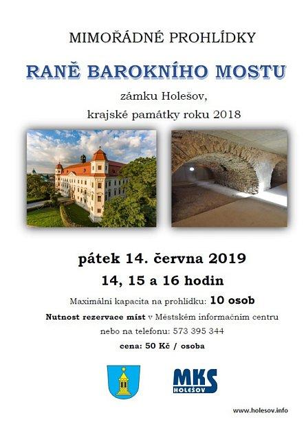 Raně barokní most vHolešově