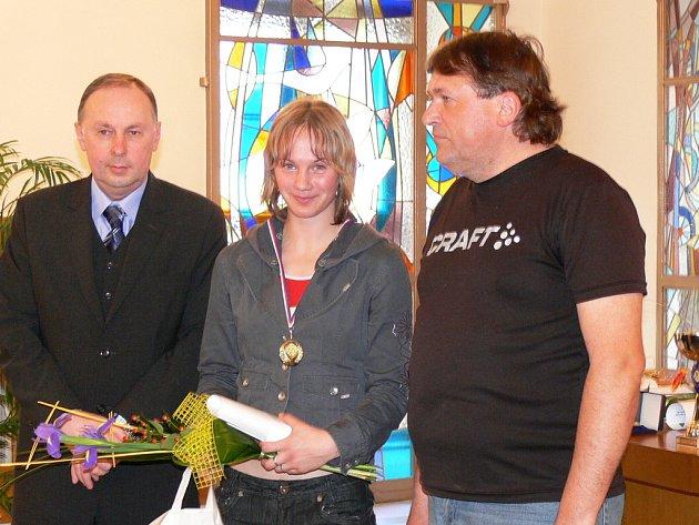 Na radnici v Kroměříži byli 2. 4. 2008 ocenění nejlepší mládežničtí sportovci, kolektivy a trenéři za rok 2007.