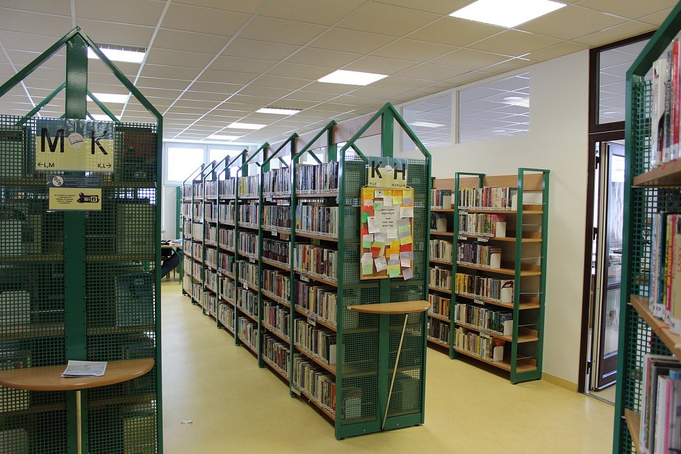 Knihovna Kroměřížska vlastní 135 tisíc knih