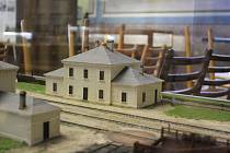 V Záhlinicích u Hulína probíhá výstava o vývoji železnici, která protínala i Zlínský kraj.