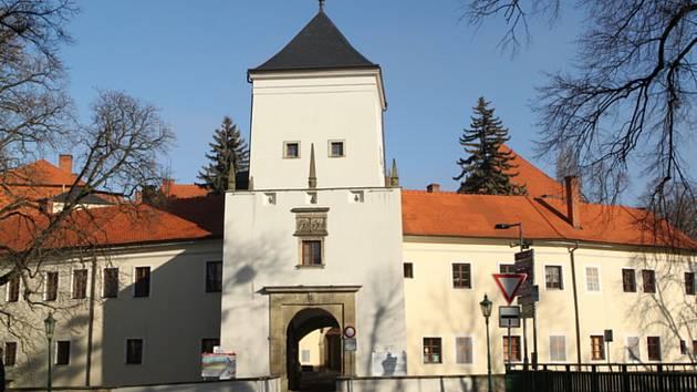 Zámek Bystřice pod Hostýnem. Ilustrační foto.