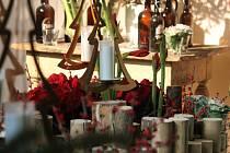 V rámci výstavy Floria Vánoce 2016 lidé mohli obdivovat krásně nazdobené stromečky, hlasovat pro ten nejkrásnější, ale také zkusit ruční výrobu ze dřeva.