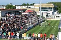 Fotbal v Kroměříži. Ilustrační foto