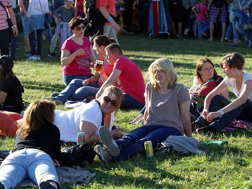 Festival Holešovská regata. Skupina Kryštof