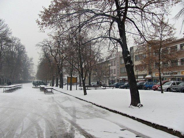 Zasněžená Kroměříž 12.2.2013.