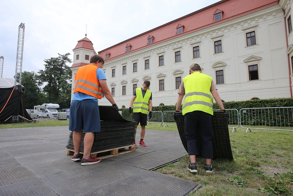 Holešovská regata 2019 - přípravy na akci