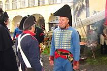 Napoleonské slavnosti pořádali v Bystřici pod Hostýnem Asociace 8. historického pluku francouzské řadové pěchoty a Klub vojenské historie francouzského císařství Bystřice pod Hostýnem.