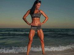 Adéla Storzerová, fitness bikiny hvězda a osobní fitness trenérka z Kroměříže.