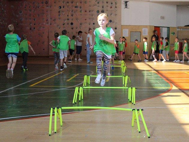 V rámci akce Děti v pohybu se už osmým rokem v Holešově snaží dětem zařadit sport a zdravé návyky do jejich každodenního života.