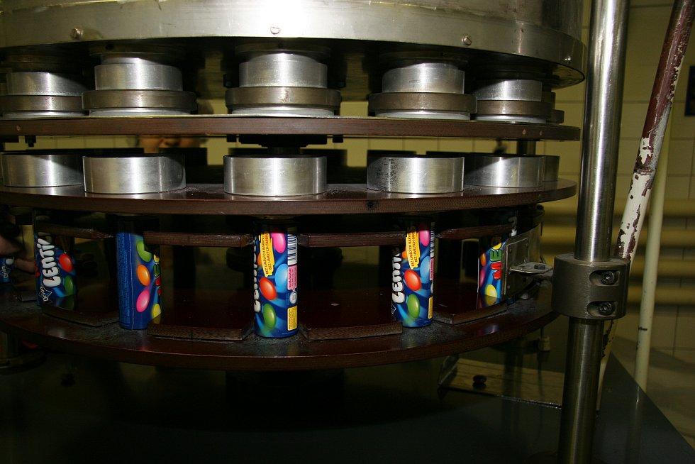 Výroba Lentilek ve Sfinxu.