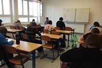 Žáci devátých tříd v třetím dubnovém týdnu vykonávali přijimácí zkoušky na střední školy