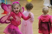 Tradiční dětské šibřinky spojené s karnevalem si mohli v sobotu zájemci užít v Domě kultury ve Zdounkách.