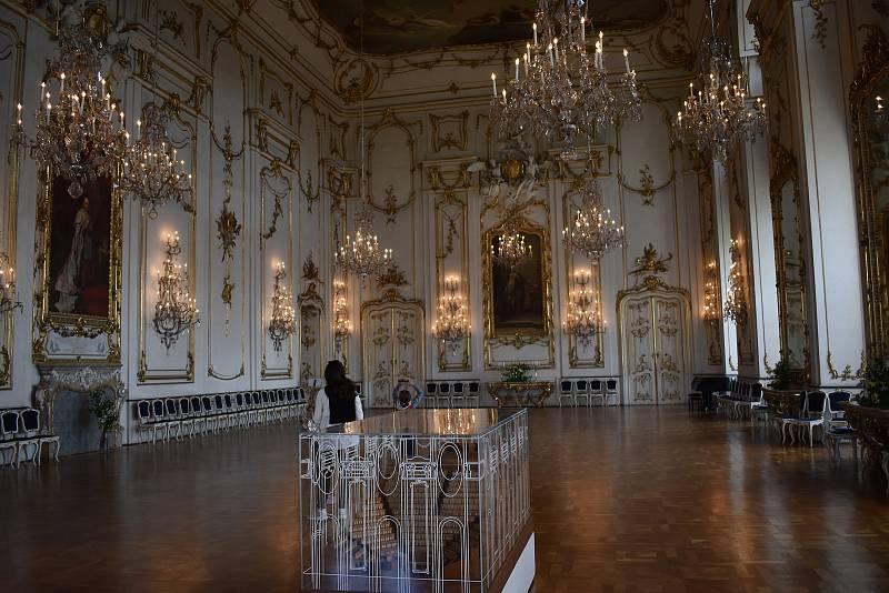 Prohlídka Arcibiskupského zámku v Kroměříži bez průvodce