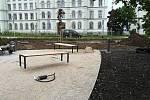 Rekonstrukce nám. Míru v Kroměříži - konec května 2019