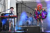 Na Royal Dog Summer Párty vystoupila skupina Mydy Rabycad.