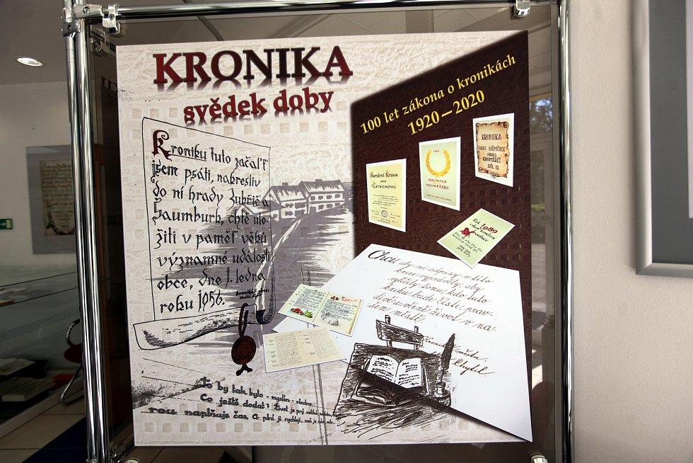Státní okresní archiv Kroměříž. Probíhající výstava kronik.